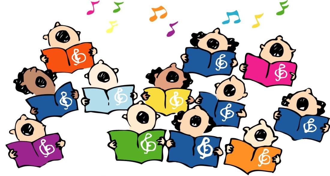 church singers clipart - photo #25