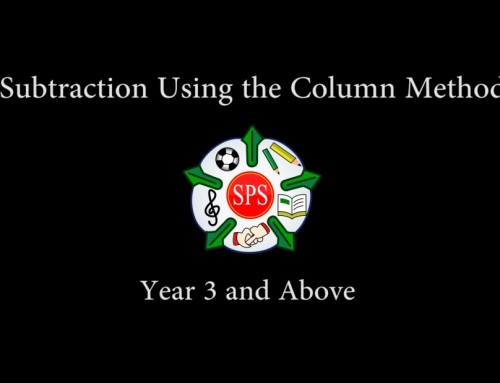 Subtraction Using the Column Method Year 3 and above